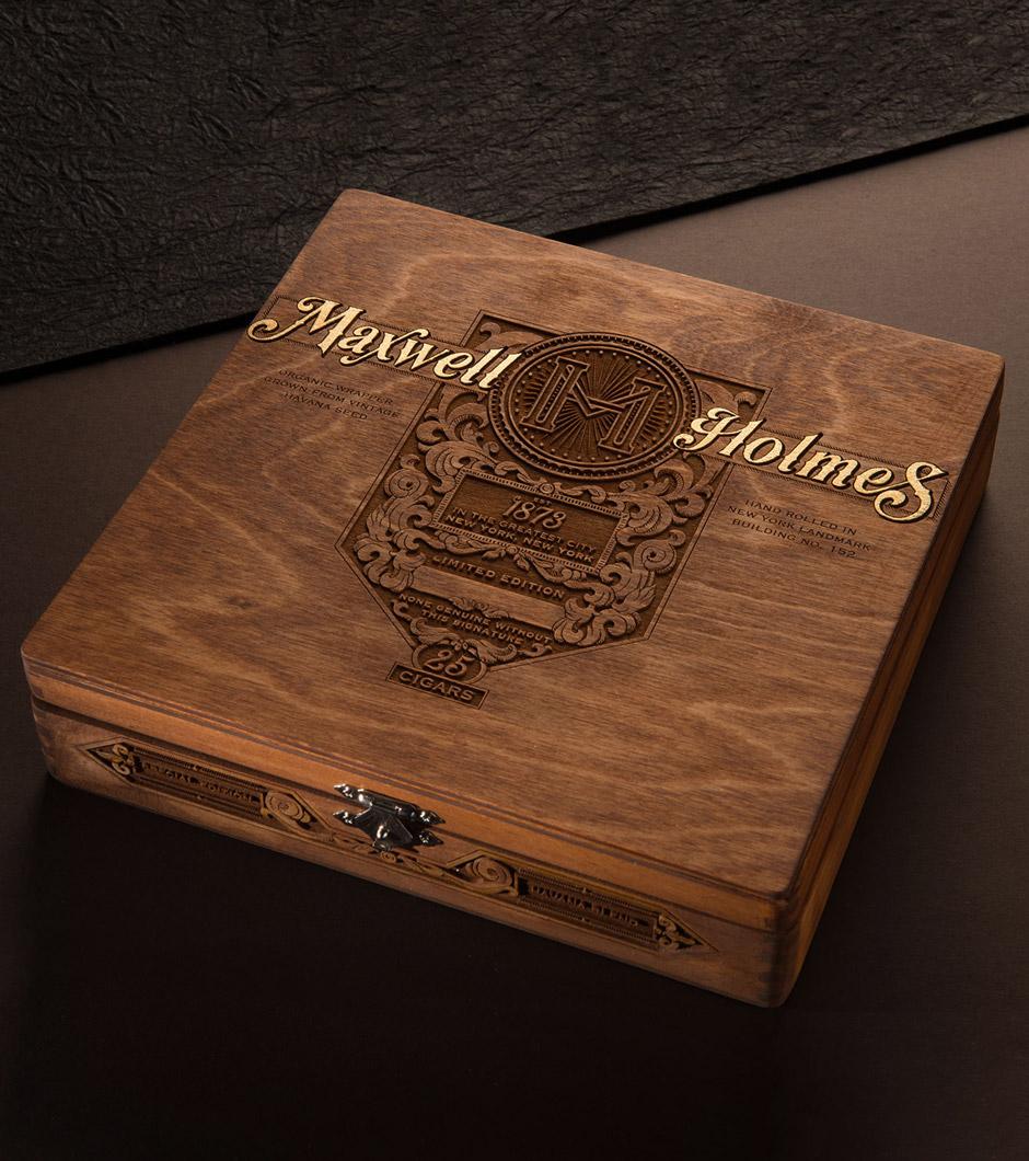 Maxwell Holmes Special Edition Cigar Box